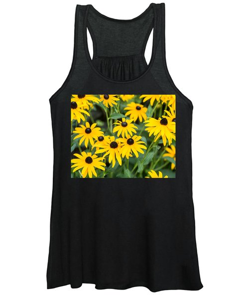 Black-eyed Susan Up Close Women's Tank Top