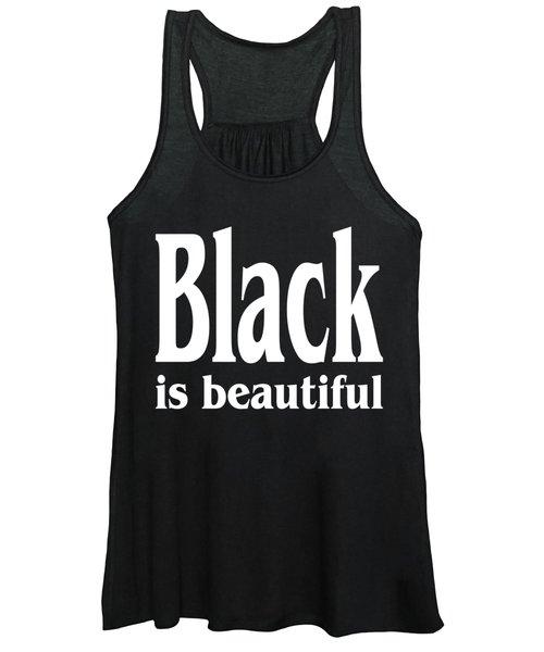 Black Is Beautiful Design Women's Tank Top