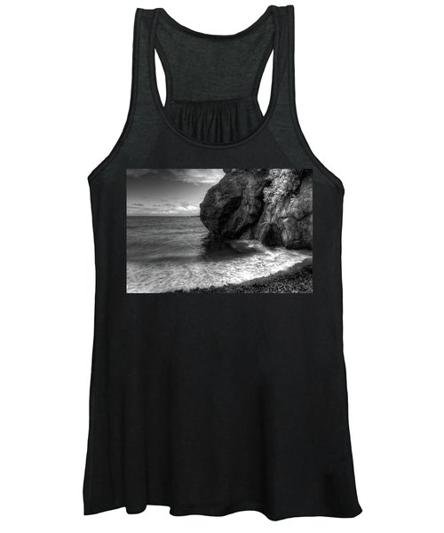 Black Sand Beach Women's Tank Top