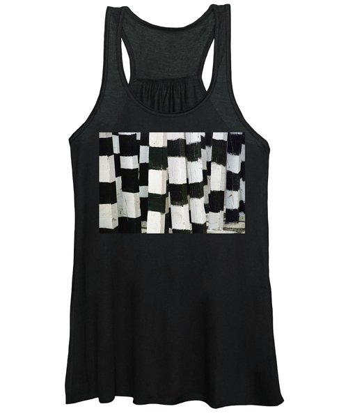 Blanco Y Negro Women's Tank Top