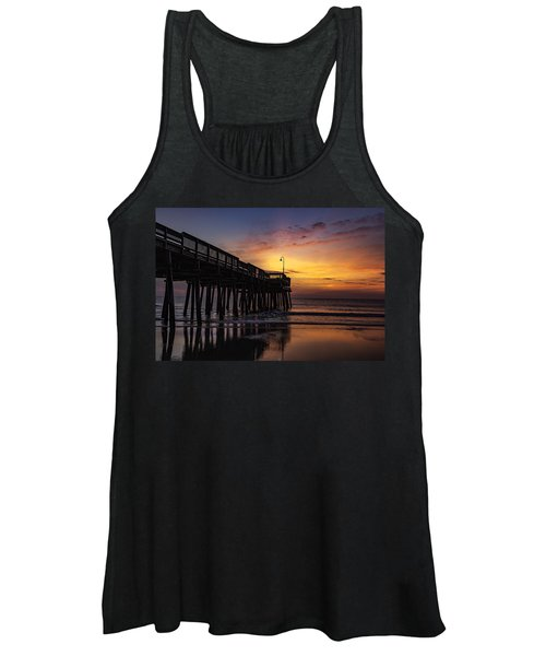 Women's Tank Top featuring the photograph Blood Orange Morn by Pete Federico