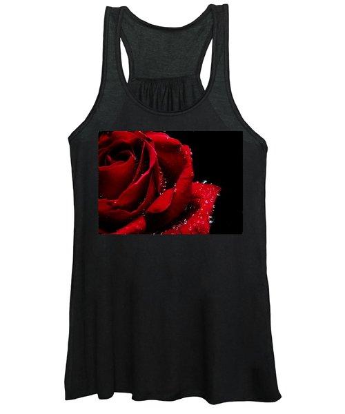 Blood Red Rose Women's Tank Top