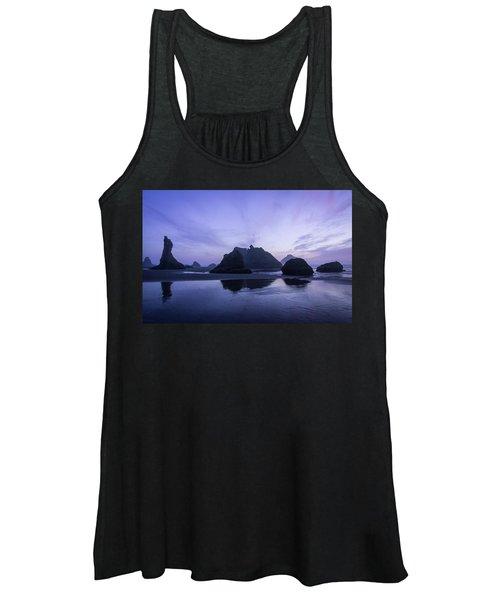 Blue Hour Reflections Women's Tank Top