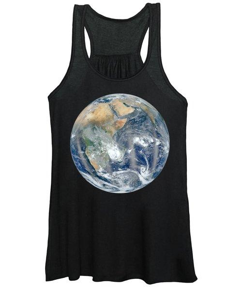 Blue Marble 2012 - Eastern Hemisphere Of Earth Women's Tank Top