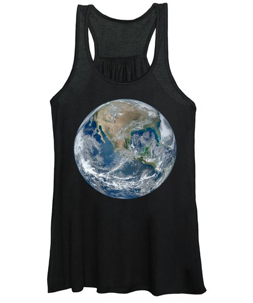 Blue Marble 2012 Planet Earth Women's Tank Top
