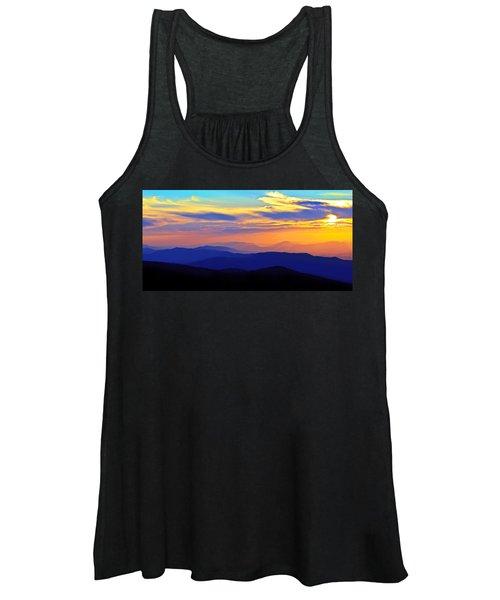 Blue Ridge Sunset, Virginia Women's Tank Top