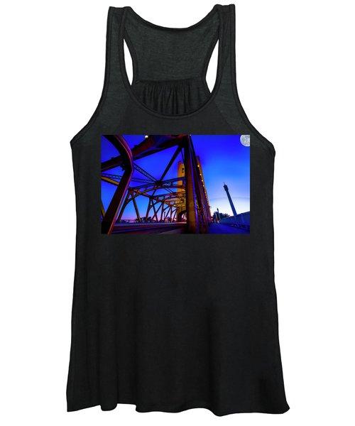 Blue Sunset- Women's Tank Top