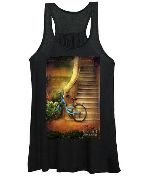 Blue Taos Bicycle Women's Tank Top