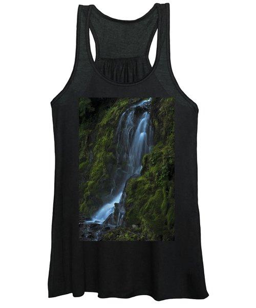 Blue Waterfall Women's Tank Top