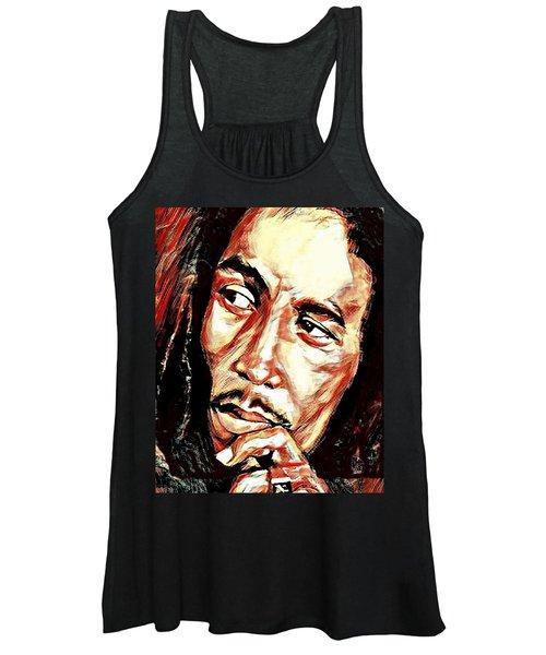 Bob Marley Women's Tank Top