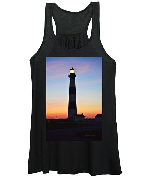 Bodie Lighthouse At Sunrise Women's Tank Top