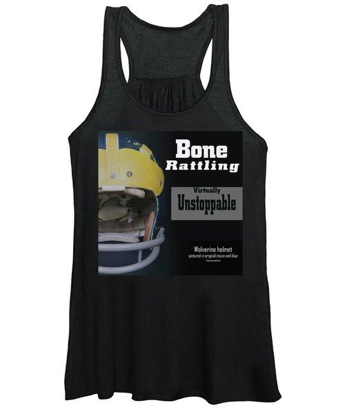 Bone Rattling Virtually Unstoppable Women's Tank Top