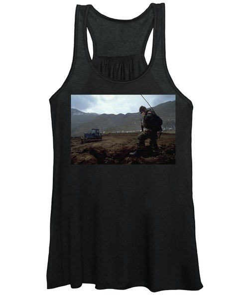 Boots On The Ground Women's Tank Top