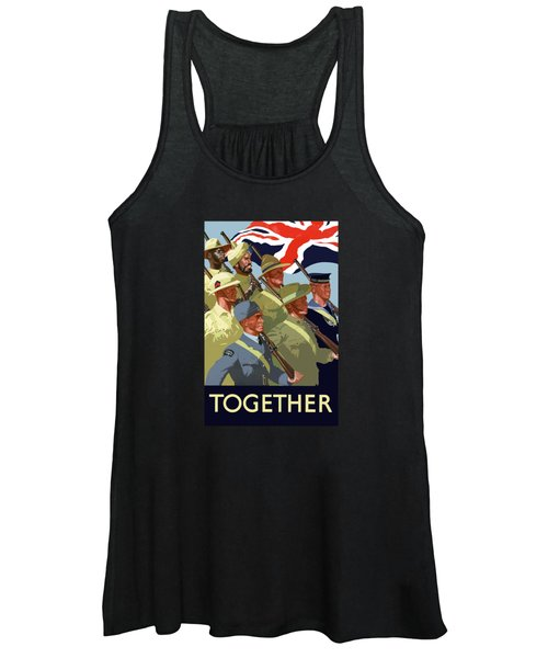 British Empire Soldiers Together Women's Tank Top