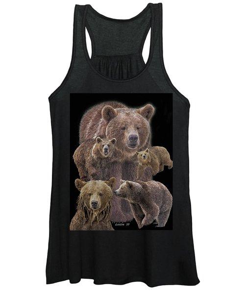 Brown Bears 8 Women's Tank Top