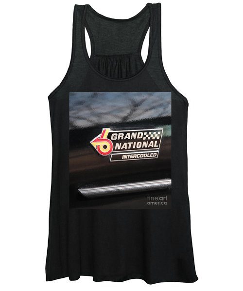 Buick Grand National Emblem Women's Tank Top