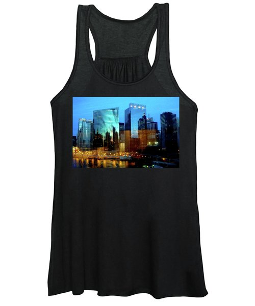 Reflections On The Canal Women's Tank Top