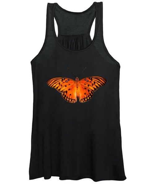 Butterfly In Dark Women's Tank Top