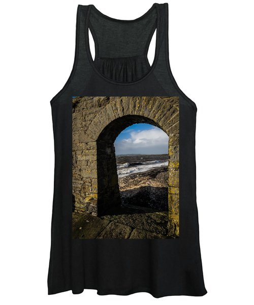 Women's Tank Top featuring the photograph Cappagh Pier And Ireland's Shannon Estuary by James Truett