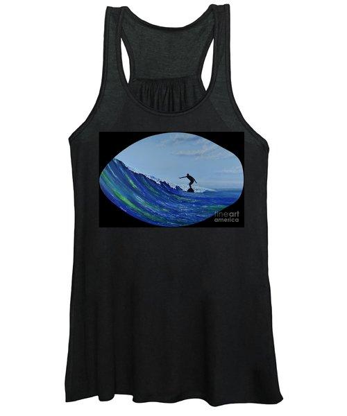 Catch A Wave Women's Tank Top