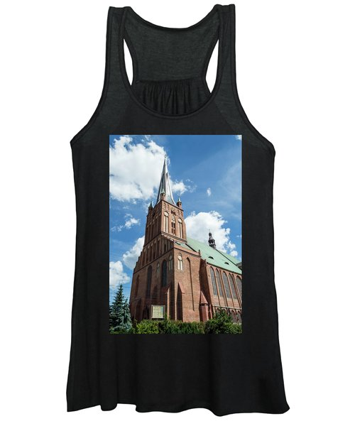 Cathedral Basilica Of St. James The Apostle, Szczecin A Women's Tank Top