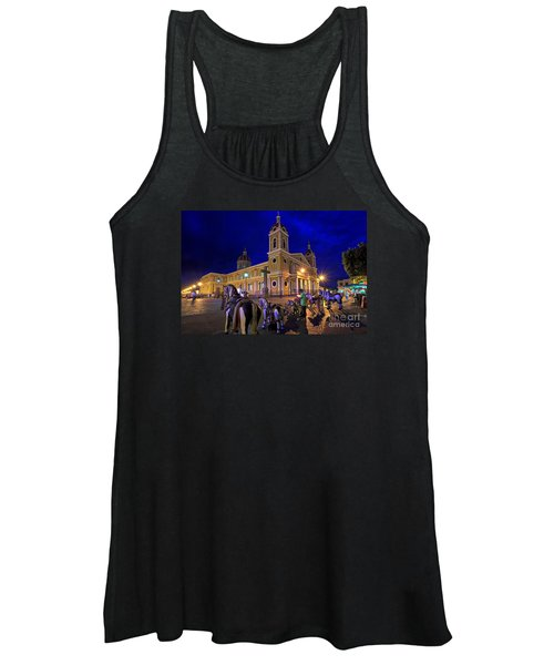 Cathedral Of Granada Shines Brightly Women's Tank Top