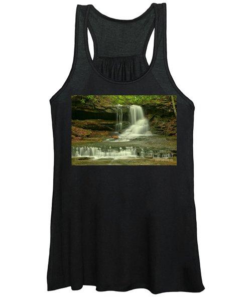 Cave Falls In The Laurel Highlands Women's Tank Top