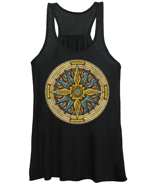 Celtic Compass Women's Tank Top