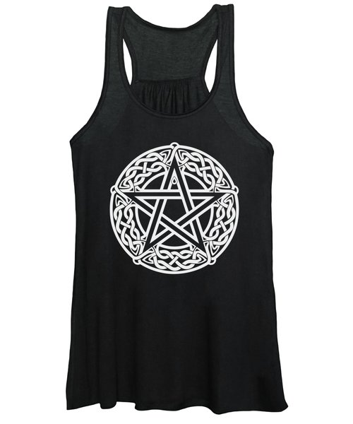 Celtic Pentagram Women's Tank Top