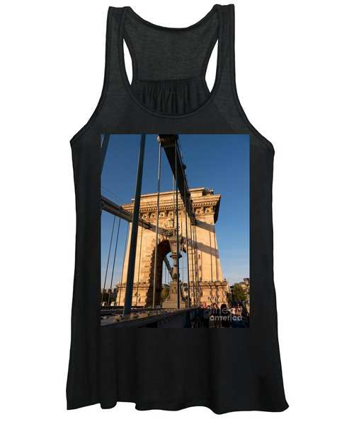 Chain Bridge Budapest  Women's Tank Top
