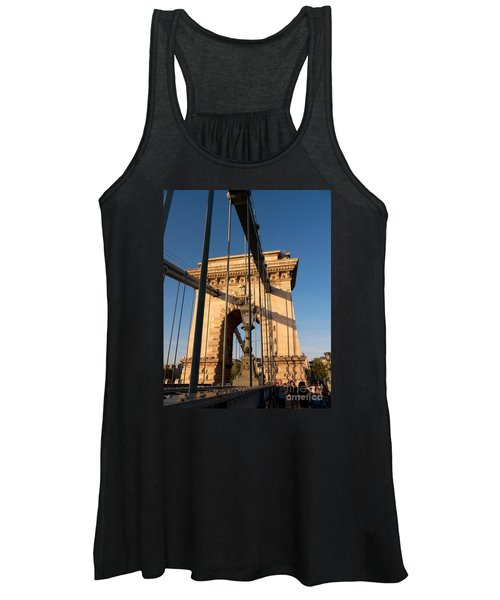 Chain Bridge Budapest  Women's Tank Top