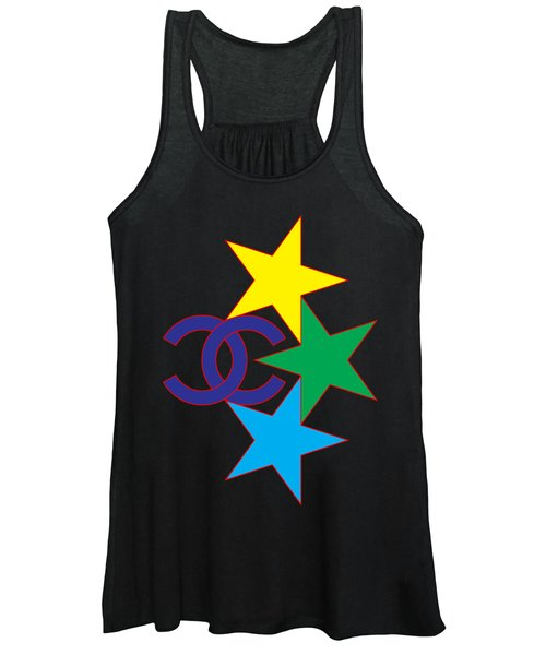 Chanel Stars-1 Women's Tank Top