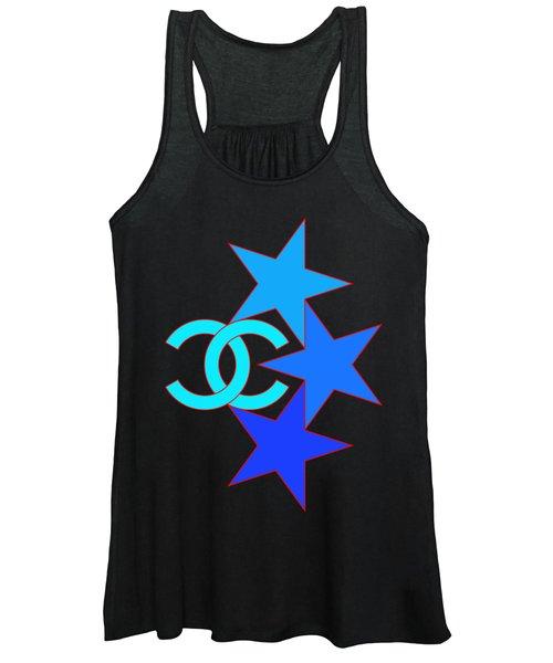 Chanel Stars-5 Women's Tank Top