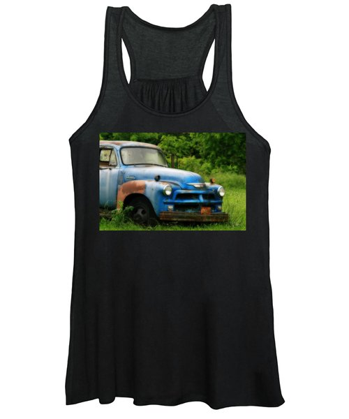 Chevy 6500 Farm Truck Women's Tank Top