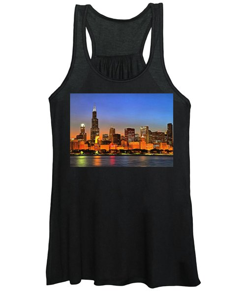 Chicago Dusk Women's Tank Top