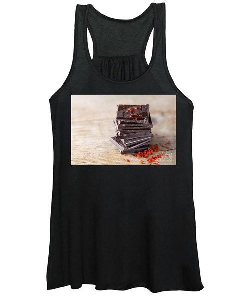 Chocolate And Chili Women's Tank Top