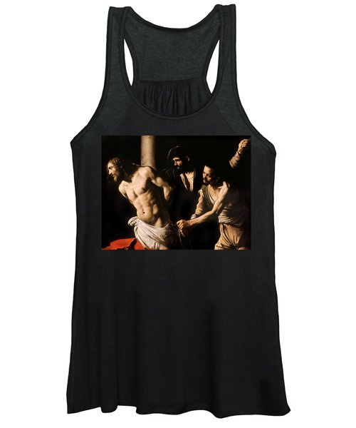 Christ At The Column Women's Tank Top