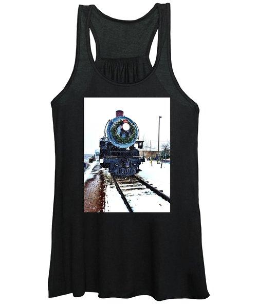 Christmas Train Women's Tank Top