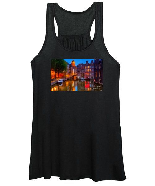 City Block 900 Soft And Dreamy In Thick Paint Women's Tank Top
