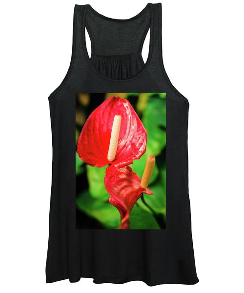 City Garden Flowers Women's Tank Top