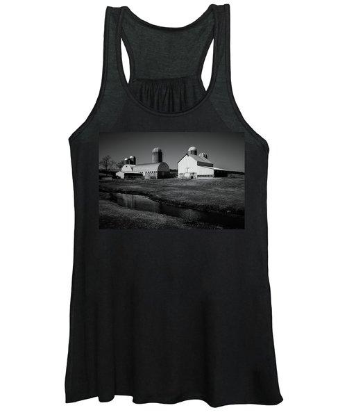 Classic Wisconsin Farm Women's Tank Top