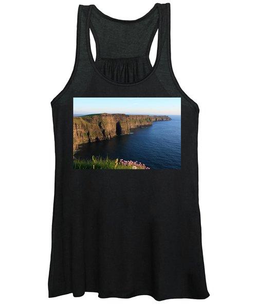 Cliffs Of Moher In Evening Light Women's Tank Top