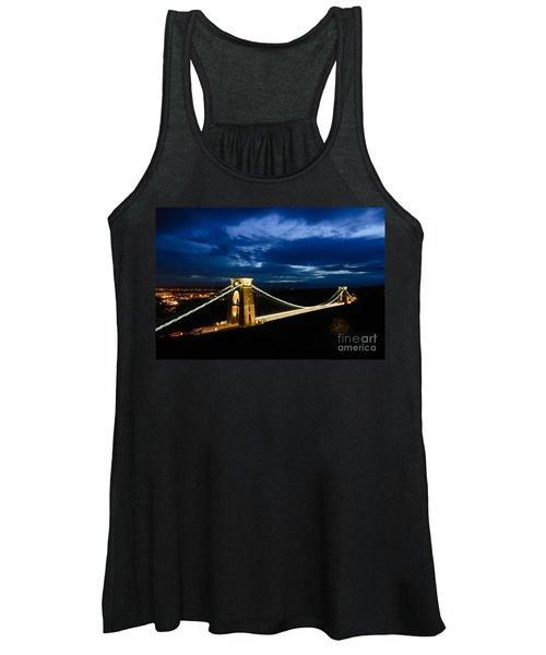 Clifton Suspension Bridge, Bristol. Women's Tank Top