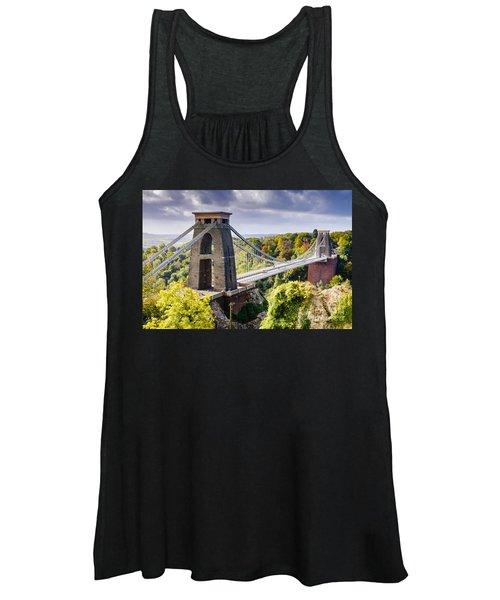 Clifton Suspension Bridge Women's Tank Top