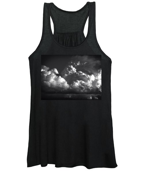 Cloud Power Over The Lake Women's Tank Top