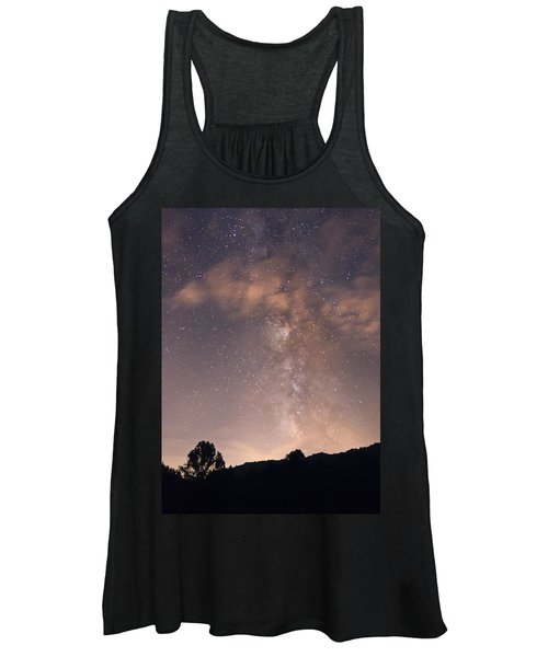 Clouds And Milky Way Women's Tank Top