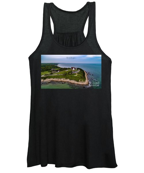 Coastal Nobska Point Lighthouse Women's Tank Top