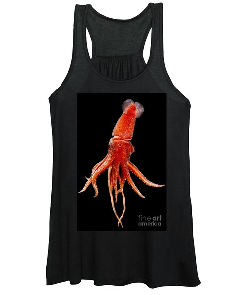 Cock-eyed Squid, Histoteuthis Women's Tank Top