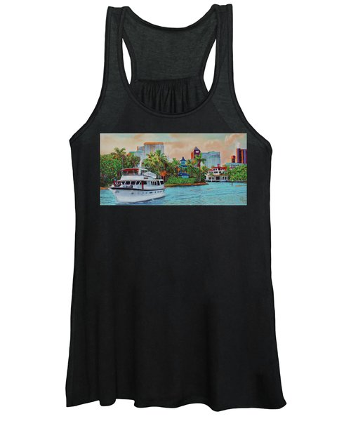 Cocktails On The New River Women's Tank Top