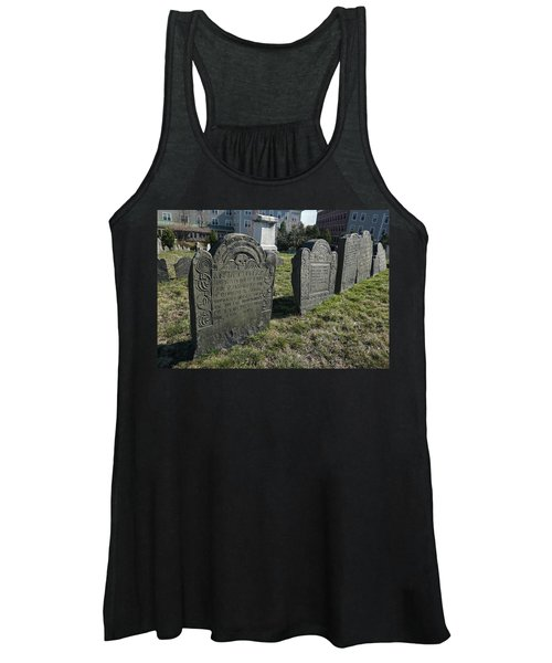 Colonial Graves At Phipps Street Women's Tank Top